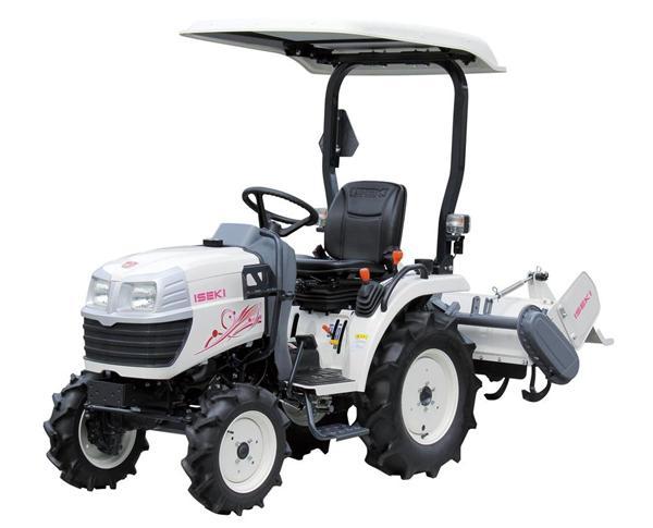 農業女子の意見を取り入れ、花柄のトラクターができました! おしゃれな農業機械が日本の農業を変える…