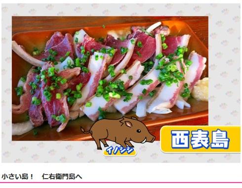 NHK「アサイチ」にてイノシシの刺身を保険所が許可していると捏造して話題に