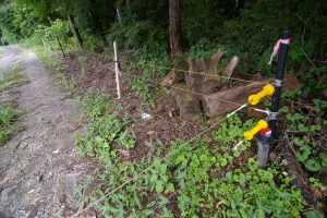 獣害たいさくで設置した電気柵が盗まれる事件が多発しているらしい